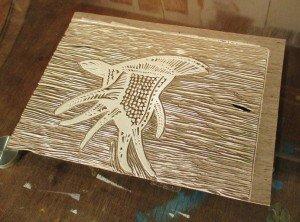 Matrice gravure plancton 1 - FloRe - florcarnivor.unblog.frweb