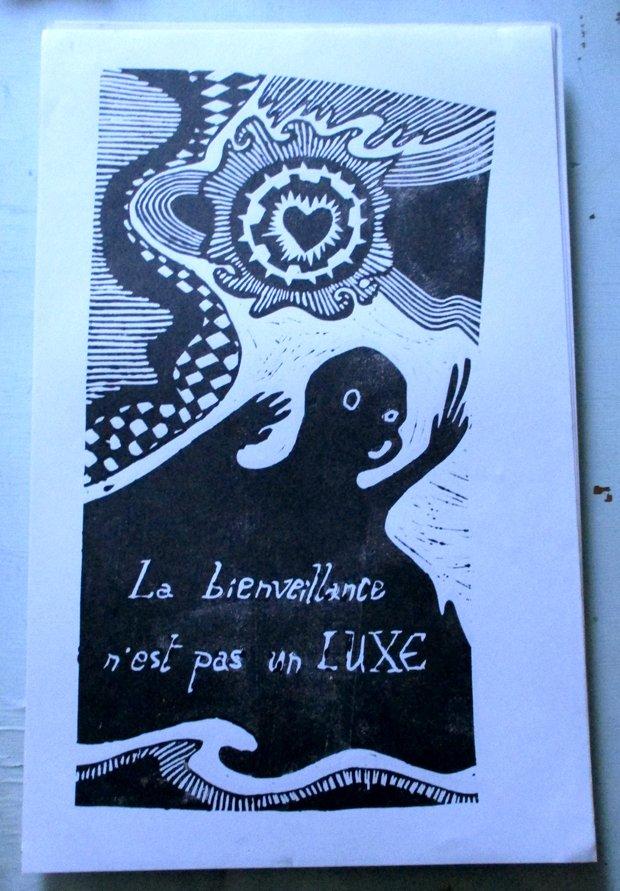 La bienveillance n&b - FloRe - florcarnivor.unblog.fr